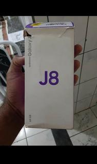Vendo Celular Samsung J8 De 64 Gb,memória Ram 4gb Tela 6