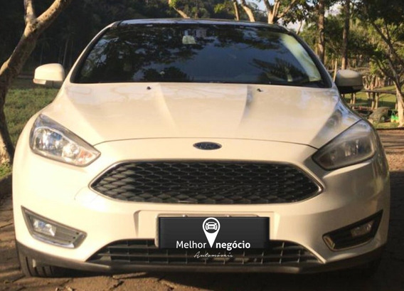 Ford Focus Hb 1.6 Se Plus Flex 2017 Branco