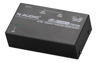 Fuente Alimentación Phantom Power N-audio Ps400 En Cuotas