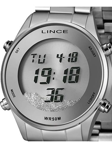 Imagem 1 de 7 de Relógio Lince Feminino Digital Sdm4638l Sxsx