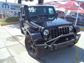 Jeep Wrangler 3.6 Unlimited Sahara V6 4x4 At 2015.