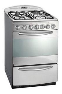 Cocina Domec Cxnv Acero 56cm Luz Encendido Timer Selectogar6