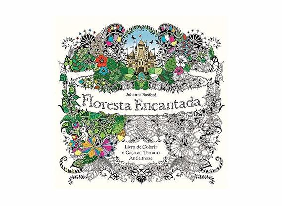 Livro Floresta Encantada Antiestresse