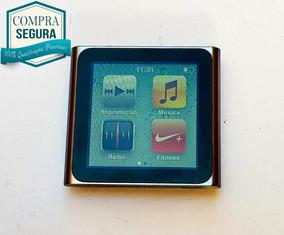 Ipod Nano 6ª Geração Apple Raridade - Cor: Prata - Raridade