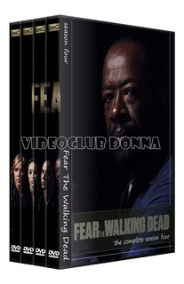 Fear The Walking Dead 4 Temporadas Black Edition Dvd