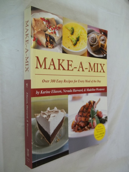 Livro - Make-a-mix - Karine Eliason E Nevada Harward