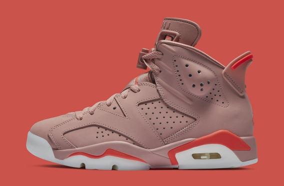 Tenis Nike Air Jordan 6 Aleali May Millennial Original Mujer