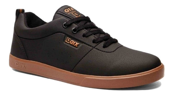Tênis Qix Fly Unissex Preto/natural Casual Original N.f Outlet Bronxsports + Brinde