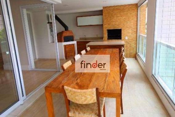 (alugado) Apartamento Com 3 Dormitórios À Venda, 201 M² Por R$ 2.500.000 - Campo Belo - São Paulo/sp - Ap12691