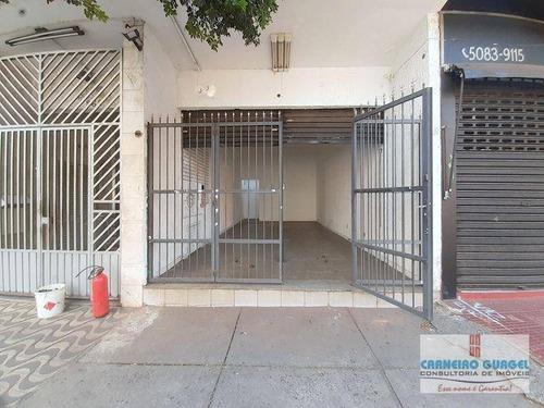 Imagem 1 de 23 de Rua Cubatão, Salão De 30 Metros Quadrados, 01 Banheiro, Proximo Da Rua Jose Antonio Coelho E Metrô Paraiso. - Sl0011