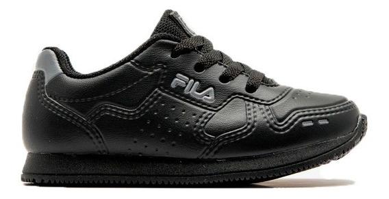 Fila Zapatillas Lifestyle Niño Inf Classic 92 Negro- Gris