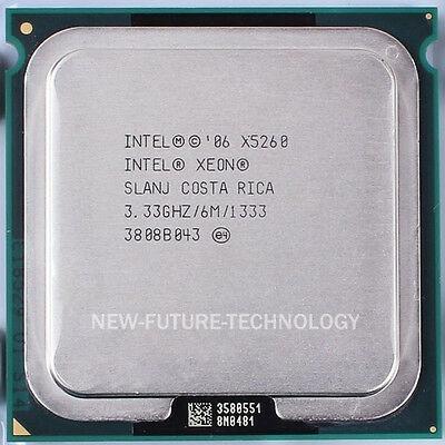 Processador Intel Xeon X5260 3.33ghz 6mb - Lga775 Adaptado