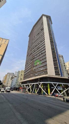 Imagem 1 de 21 de Andar Corporativo Para Alugar, 840 M² Por R$ 25.216,50/mês - República - São Paulo/sp - Ac0017