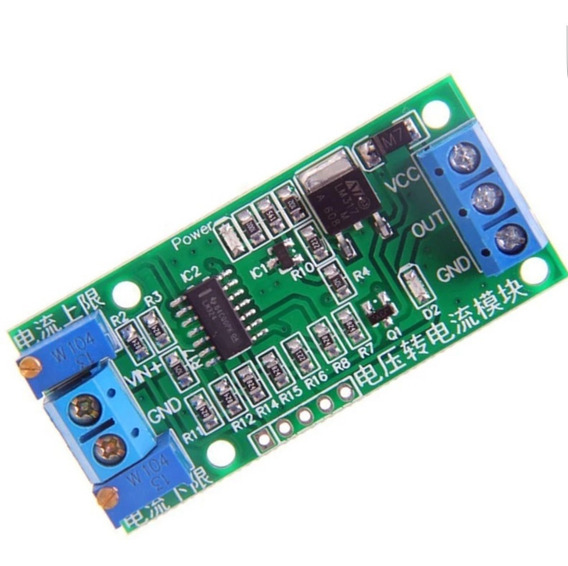 Conversor 0 A 5v P/ 4 A 20ma Conv. Tensão/corrente (cod.08)