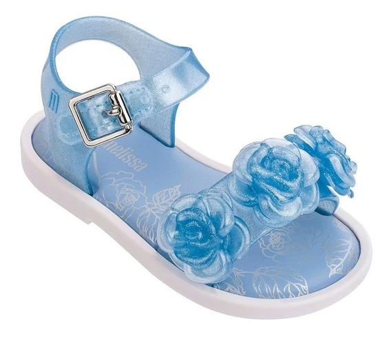 Sandália Mini Melissa Mar Sandal Iii Rosa Azul Original