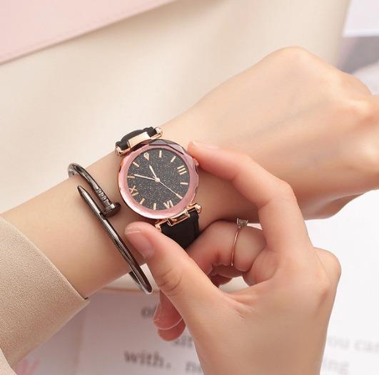 Relógio De Pulso De Quartzo Mulheres Relógios De Luxo