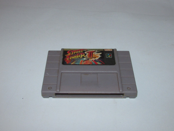 Super Street Fighter 2 Super Nintendo Paralelo