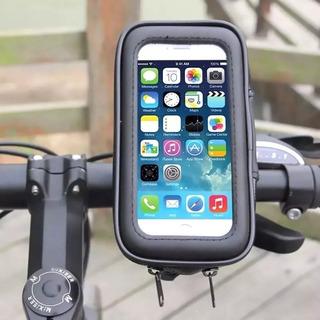 Suporte Capa Celular iPhone Samsung Moto Bike Universal 6 P