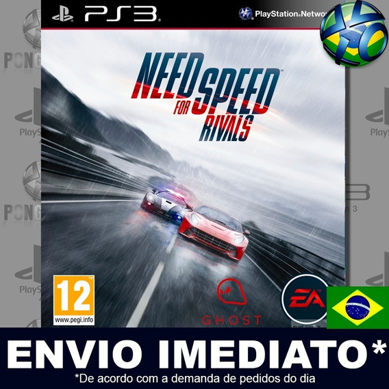 Need For Speed Rivals Ps3 Digital Psn Dublado Português Pt Br Jogo Em Promoção
