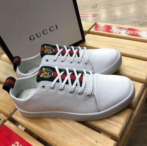 Tenis Gucci Ice Tiger + Frete Gratis