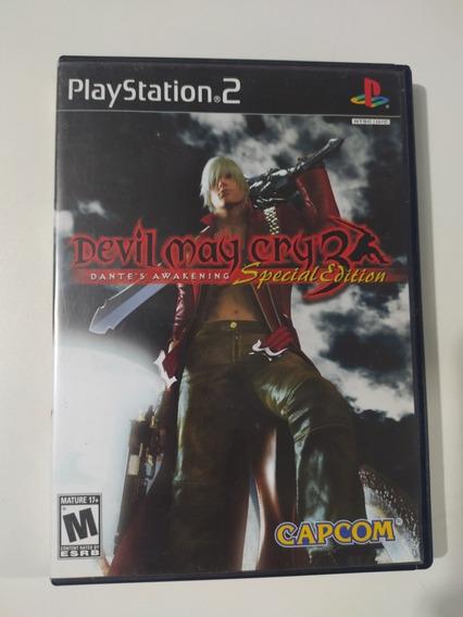Jogo Devil May Cry 3 Original Para Ps2.Playstation 2.