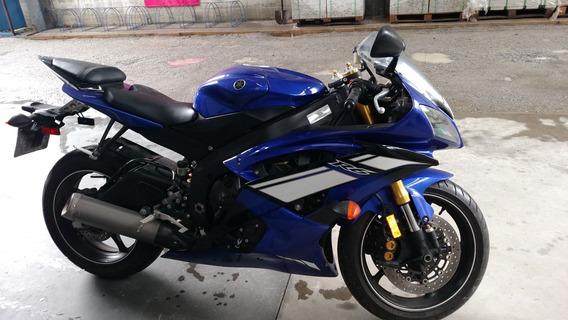 Yamaha R6 Azul 2012/12