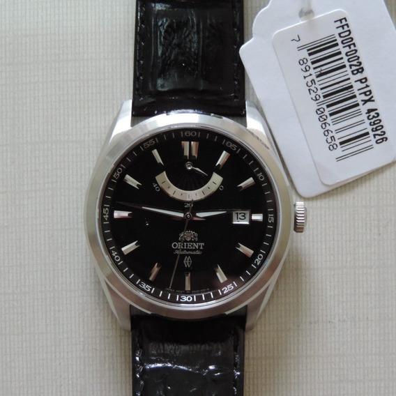 Relógio Orient Automático Ffd0f002b Pulseira De Couro Sport