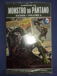 Monstro Do Pântano Raízes Volume 1 E 2 Lacrados Panini