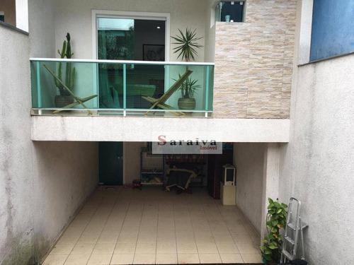 Sobrado Com 3 Dormitórios À Venda Por R$ 745.000,00 - Vila Nossa Senhora Das Vitórias - Mauá/sp - So1164