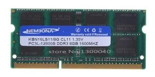 Memoria Para Laptop Sodimm 8gb Ddr3l 1600mhz Pc3-12800 1.35v