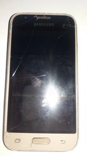 Celular Samsung J1 Mini Sn - J105b-dl P/ Ret. De Peças #2417