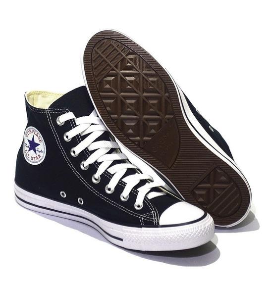Bota Converse All Star Hi 157197 Negro Blanco Dep