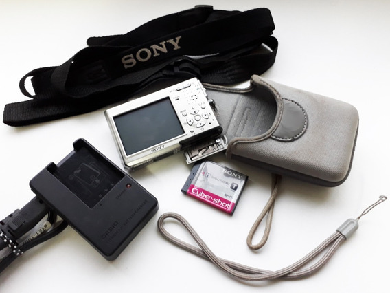 Câmera Sony Cybershot Dsc-t1 ( Ligando Bem, Mas C/ Lcd Off)