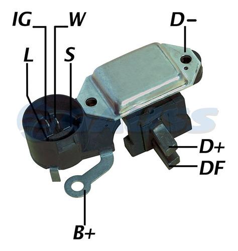 Imagen 1 de 5 de Regulador Alternador. Chevrolet Corsa Diesel  C/port/carb