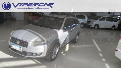 Imagen 1 de 12 de Fiat Palio Weekend 1800 Y Cuotas En Pesos 1.4 2012