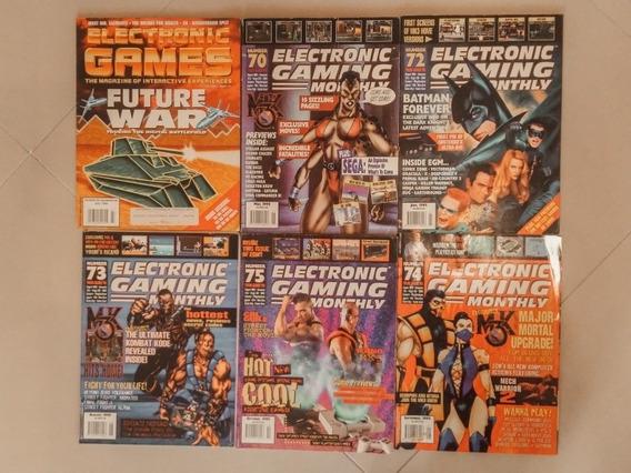 Revista Electronic Gaming (complete Sua Coleção) - Inglês