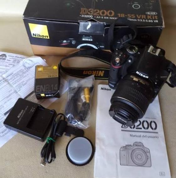 Câmera Nikon D3200 Completa , Em Bom Estado