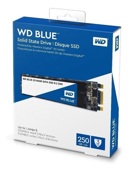 Ssd M.2 250gb Western Digital Blue 3d Nand Wds250g2b0b M2