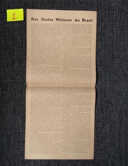 Carta Aberta Armando De Salles Oliveira 1937