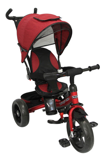 Triciclo Reversible One Click Rs-4065q Rojo