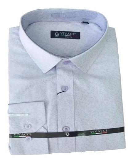 Camisa Lilás Vivacci + Gravata