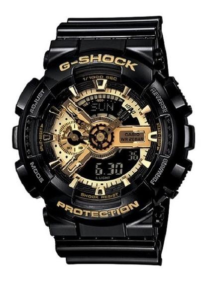 Relógio Casio G-shock Ga-110gb-1adr Semi Novo 100% Original