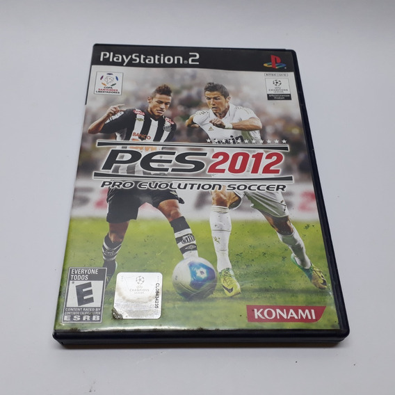 Jogo Pro Evolution Soccer Pes 2012 Ps2 Playstation Original