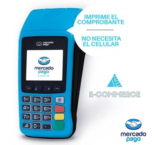 Imagen 1 de 3 de Posnet Mercadopago Point Plus Inalambrico Wifi 3g Cuotas Ade