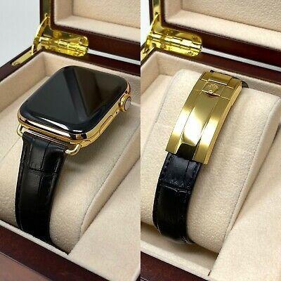 Apple Watch Serie 6 De Oro De 24 Quilates Y 44 Mm Persona...