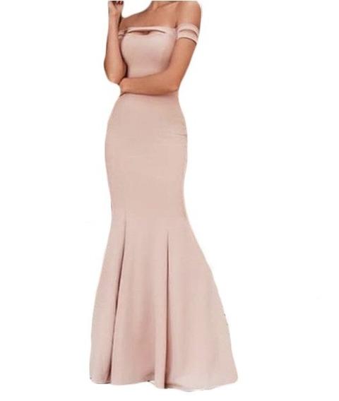 Vestido Longo Festa Serei Madrinha Casamento Formatura #vl18