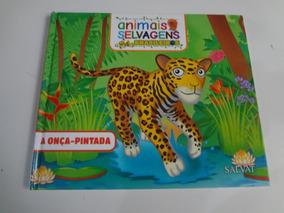 Livro Animais Selvagens Brasileiros A Onça Pintada Salvat