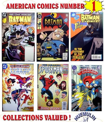 Imagen 1 de 1 de Comics Americano Numero 1