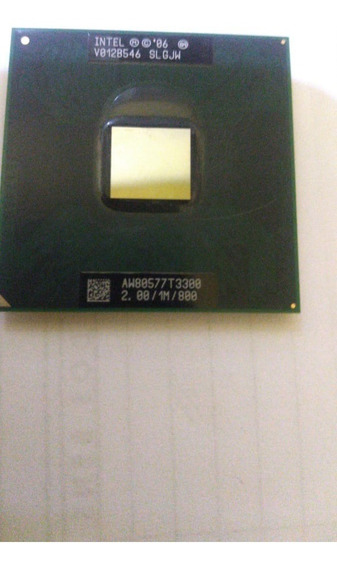 Processador Notebook Intel Celeron T3300 2.00/1m/800 Slgjw