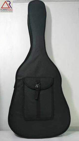 Estuche Semirigido Para Guitarra Folk